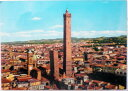 1970年発行のイタリアのボローニャの風景の絵はがきお部屋のインテリアにイタリアのアンティークショップで見つけた絵ハガキと切手と雑貨