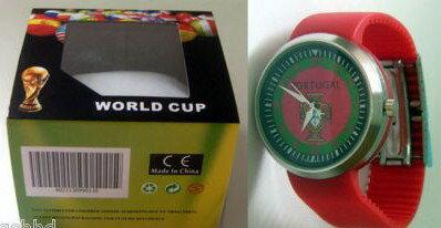 サッカー 時計,ポルトガルPORTUGAL SOCCERの腕時計 サッカーチームの腕時計を直接イタリアから取り寄せました。