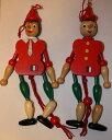 ピノキオ,トスカーナのピノッキオで糸操り人形(中)イタリアのお土産。数量限定