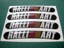 ラリーアート RALLI ART-3Dのステッカー,車のシール