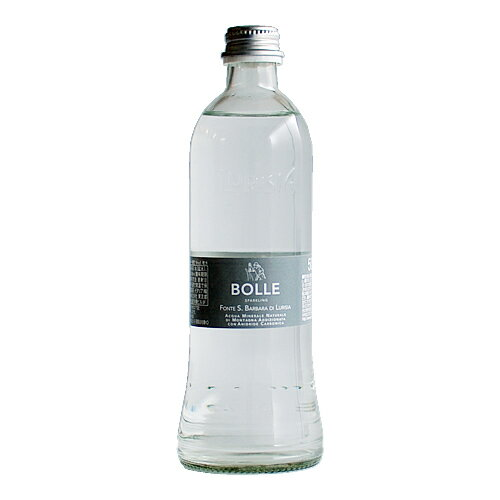 イタリア産スパークリングミネラルウォーター 330ml(ルリージア)Acqua oligominerale naturale frizzante 330ml / Lurisia【天然炭酸水】【きめ細かな泡が心地よい】【美容と健康に】