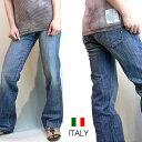 FREESOUL イタリア製 インポート ストレートデニム レディースジーンズ ジーパン (ブルー) フリーソウル