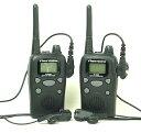 楽天アイタックスインカム (送料・代引手数料無料)お得な 中継通話対応47ch特定小電力トランシーバー(インカム)ファーストコムFC-B20R&イヤホンマイクのインカム2台セット