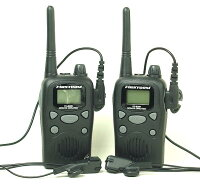 【送料・代引手数料無料】お得な!中継通話対応47ch特小トランシーバーファーストコムFC-B20R&耳かけイヤホンマイクセット