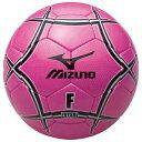 MIZUNO 【25%OFF】ミズノ フットサルボール(検定球) ピンク×ブラック