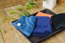 旭紡績 いとやのタオル フェイスタオル 超長綿 ピマ綿100% 黒 紺 藍 橙 日本製 つややか ホテル仕様