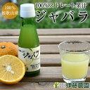 ジャバラ果汁 100% 国産 ストレート 小分け瓶 100ml 無添加 和歌山産 家庭用 調味料