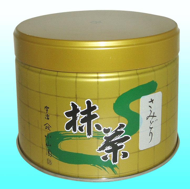 【抹茶】さみどり150グラム缶