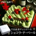 クリスマスケーキ 宇治抹茶チョコレートケーキ ショコラ・テ・ベール ホールケーキ ラズベ