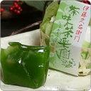 ひと口羊羹 茶味茶楽 6個入り§京都宇治のお茶屋作挽きたて抹茶をたっぷり使った濃厚抹茶味です。