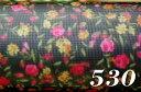 ◆転写チュール(#1875)68cm×50cm◆ハードチュール 転写プリント ジャスミン
