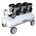 静音4.5馬力オイルレスコンプレッサAG-4578F/V2-8-1