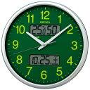 樂天商城 - SEIKO セイコー スタンダード電波掛時計(温湿度計・カレンダー付) KX235H