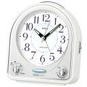 【SEIKO】 【セイコー】 ピクシス目覚まし時計 メロディアラーム NR435W