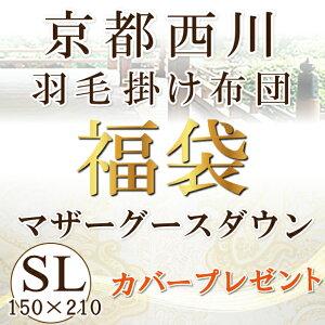 京都西川 マザーグース ホワイトマザーグースダウン シングル 掛け布団 マザーグースダウン