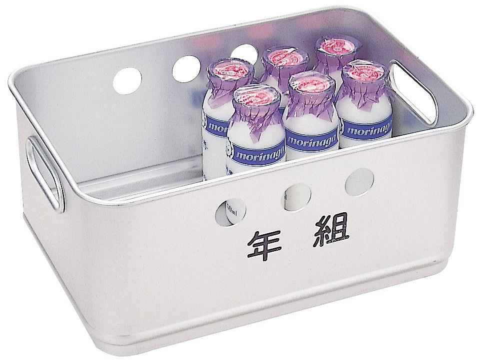 学校給食厨房用 牛乳箱 24本入り