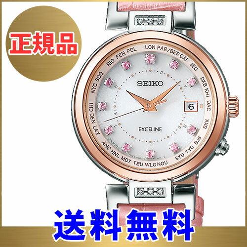 セイコー ドルチェ&エクセリーヌ SEIKO DOLCE & EXCELINE SWCW120 レディース 腕時計 ソーラー 電波 限定モデル Sakura Blooming 2017 限定モデル 数量限定:300本【有効】