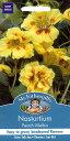 【輸入種子】Mr.Fothergill's SeedsNasturtium Peach Melbaナスターチウム・ピーチ・メルバミスター・フォザーギルズシード