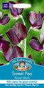 【輸入種子】Mr.Fothergill's SeedsSweet Pea Almost Blackスイート・ピー・オールモースト・ブラックミスター・フォザーギル...