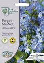 【輸入種子】Mr.Fothergill 039 s Seeds Royal Horticultural Society Forget Me Not URTRAMARINE RHS フォーゲット ミー ノット(わすれな草) ウルトラマリン ミスター フォザーギルズシード