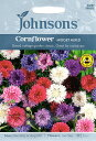 【輸入種子】Johnsons SeedsCornflower Midget Mixedコーンフラワー(セントーレア)・ミジェット・ミックスジョンソンズシード