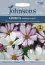 【輸入種子】Johnsons SeedsCosmos Peppermint Rockコスモス・ペパーミント・ロックジョンソンズシード