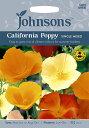 【輸入種子】Johnsons SeedsCalifornian Poppy(Eschscholzia)Single Mixedエスコルシア(カリフォルニアポピー)・シングル・ミックスジョンソンズシード