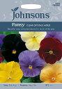 【輸入種子】Johnsons SeedsPansy Clear Crystals Mixedパンジー・クリアー・クリスタル・ミックスジョンソ...