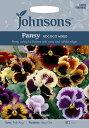 【輸入種子】Johnsons SeedsPansy Rococo Mixedパンジー・ロココ・ミックスジョンソンズシード