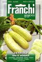 【輸入種子】FRANCHI SEMENTICETRIOLO WHITE WONDER白ミニキュウリフランチ社