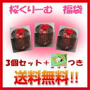 【送料無料】舞妓さんの桜クリーム 福袋三個セット...