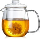 ショッピング紅茶 送料無料 なつめ IwaiLoft 手作り 耐熱 ティーポット ガラス 茶こし付き ガラスポット ジャンピング 紅茶ポット フルーツティー 花茶 工芸茶 に ガラス急須 直火可