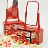【ひな祭り・桃の節句のお祝いに】ひなまつり 雛鏡台(レビューを書くと飴プレゼント)