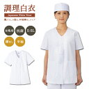 調理白衣 レディース 衿なし半袖 女性用 FA-332 飲食店 調理服 サンペックスイスト FA-332