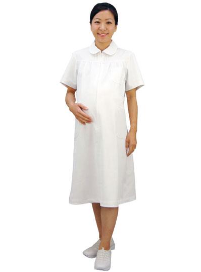 マタニティ ワンピース 白衣 医師 ドクター ナース服 住商モンブラン 73-012