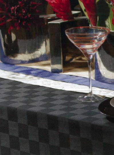 【返品交換不可】 カラー市松柄クロス インヴァルE500 130*130(四方縫い)