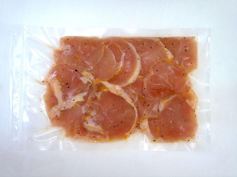 国産鶏肉 五穀味鶏 ムネ肉 焼肉 冷凍 味付け...の紹介画像3