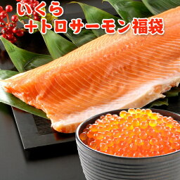 <strong>いくら</strong> 醤油漬け アラスカ 200g トロサーモン 半身 <strong>1kg</strong> 送料無料 福袋
