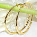 [immediate delivery] [email service correspondence] [free shipping] even if take it [79%OFF]; big impact ♪ extra-large hoop earrings (gold) [smtb-m]