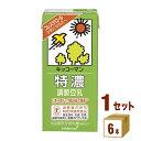 キッコーマンソイ 特濃調製豆乳 1000ml×6本×1ケース (6本) 飲料【送料無料※一部地域は除く】