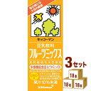 キッコーマンソイ 豆乳飲料フルーツミックス 200ml×18本×3ケース (54本) 飲料【送料無料※一部地域は除く】