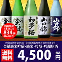 【訳あり】金鯱酒造 純米・吟醸・原酒・純米吟醸・大吟醸飲み比べ5本セット【ピックアップ】