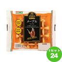 コモ(チルド) メープルワッフル 60g×24袋 食品【送料無料※一部地域は除く】