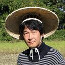 菅笠(すげがさ)ゴトク付、ひも付き、天然すげ使用、伝統工芸品、笠部:6寸(42cm)頭との接続部がゴトクつけ