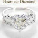 ◆pt900【2.05ctUP】ハートカット ダイヤモンド ...