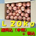 【送料無料 税込】北海道産他玉ねぎ L20kg(玉葱 タマネギ たまねぎ じゃがいも ジャガイモ ポ
