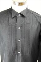 ドレスシャツ黒35sh1b-05