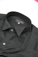 ドレスシャツ黒35sh1b-07