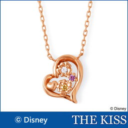 【ディズニーコレクション】 ディズニー プリンセス ラプンツェル THE KISS シルバー ネックレス 【レディースネックレス】SV925製 ピンクコーティングxキュービック DI-SN2912CB ホワイトデー