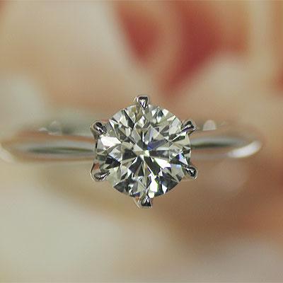 ダイヤモンド エンゲージリング プラチナ 1カラ...の商品画像